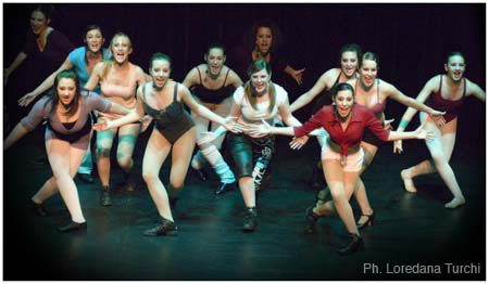 A Chorus Line 2008 - The Moving Factory - Losone, Tessin 2